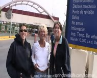 Flashing At The Mexican Border - scene 3