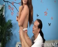 Teen Student Rides Mature Dick - scene 1