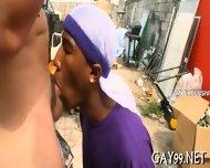 Wild Interracial Gay Sex - scene 9