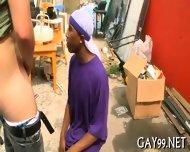 Wild Interracial Gay Sex - scene 10