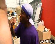 Wild Interracial Gay Sex - scene 7
