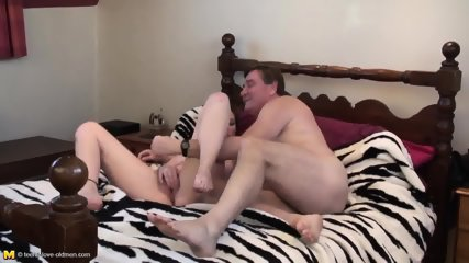 Young Blonde Has Fun With Older Guy's Cock - scene 11