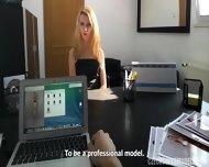 Kinky Model Takes Dick - scene 2