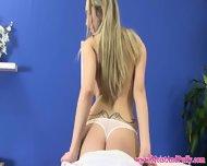 Stunning Big Taco Blonde Toying Close Up - scene 3