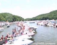 Naked Lake Party - scene 7
