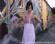 Cute Girl Gets Naked - scene 11