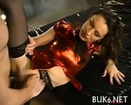 Loads Of Jizz During Gang Bang - scene 3