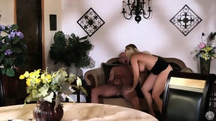 Blonde MILF Sucks Cock Like A Whore - scene 8