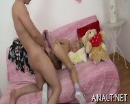 Amorous Rear Fucking For Demure Babe - scene 9