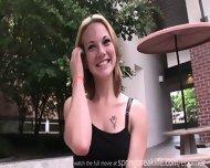 Cute Girl Flashing On Campus - scene 12