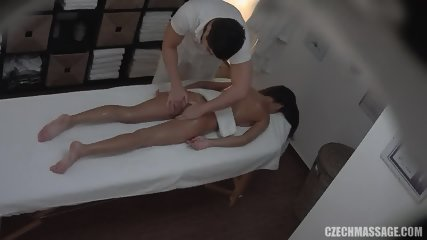 Masseur Touches His Sexy Customer - scene 6