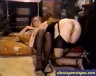 Classic Lesbian Pussy Action - scene 3