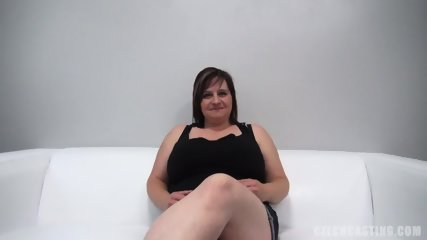 Fat Amateur Plays With Dick At The Casting - scene 2
