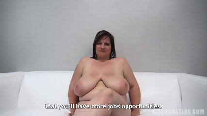 Fat Amateur Plays With Dick At The Casting - scene 4