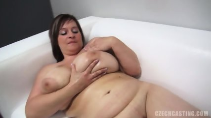 Fat Amateur Plays With Dick At The Casting - scene 6