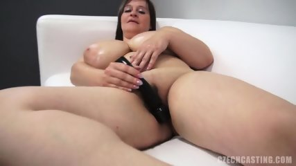 Fat Amateur Plays With Dick At The Casting - scene 7