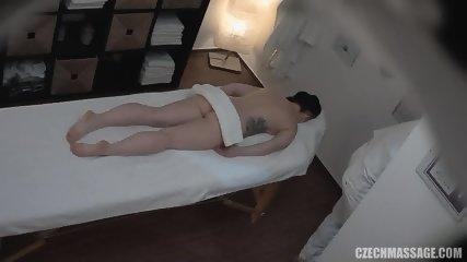 Amateur Brunette Gets Pussy Massage - scene 2