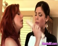 Naughty Milfs Do Lesbian - scene 3