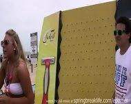 Spring Break Beach Party - scene 11