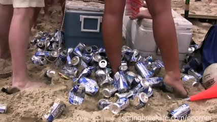 Spring Break Beach Bash - scene 9