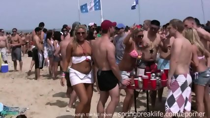 Spring Break Beach Bash - scene 5