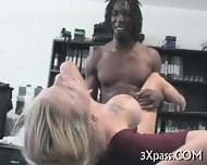 Ebony Man Bangs White Gal - scene 8