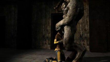 (3D Horror)(Furry) Furry gangbang