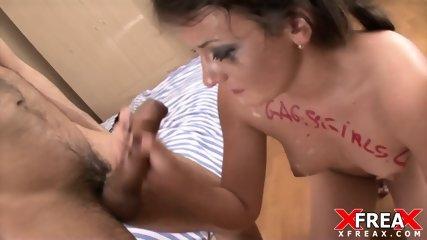 Slutty Babe Fucked In Face - scene 12