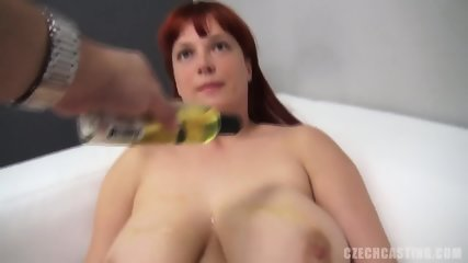 Redhead Amateur Plays With Dildo - scene 8