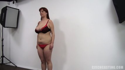 Redhead Amateur Plays With Dildo - scene 6