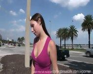 Naked In Public - Short Skirt - scene 11