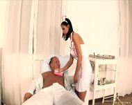 Naughty Nurse Gets Banged In Ass - scene 1