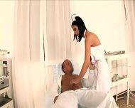 Naughty Nurse Gets Banged In Ass - scene 2