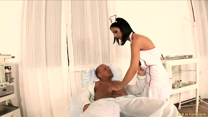 Naughty Nurse Gets Banged In Ass - scene 2
