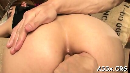 2 asian chicks bend over to receive coarse anal hammering
