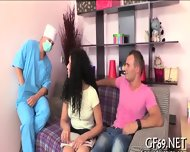 Raunchy Threesome Drilling - scene 4