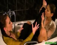 Taking A Fully Clothed Bath - scene 11