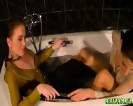 Taking A Fully Clothed Bath - scene 12