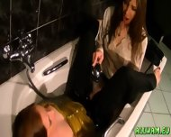 Taking A Fully Clothed Bath - scene 5