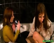 Taking A Fully Clothed Bath - scene 6