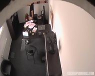 Sex In The Office With Amateur Redhead Linda - scene 7