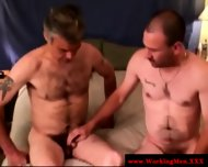 Mature Straight Bears Gay Threeway Bj - scene 8
