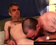Mature Straight Bears Gay Threeway Bj - scene 11