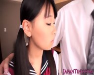 Schoolgirl Airi Sato Banged By Older Male
