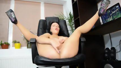 Solo Action In The Office - scene 12