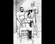Dungeon Terrors Bdsm Hardcore Art - scene 9