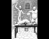 Dungeon Terrors Bdsm Hardcore Art - scene 3