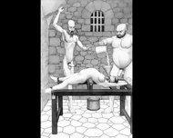 Dungeon Terrors Bdsm Hardcore Art - scene 3