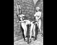 Dungeon Terrors Bdsm Hardcore Art - scene 6