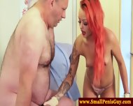 Redhead Femdoms Sph For Sad Patient - scene 11